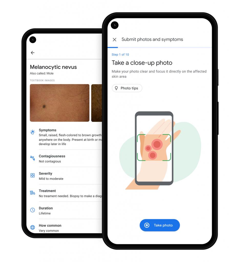 Google I/O 2021 skin condition