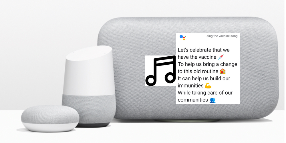 Vaccine song google assistant