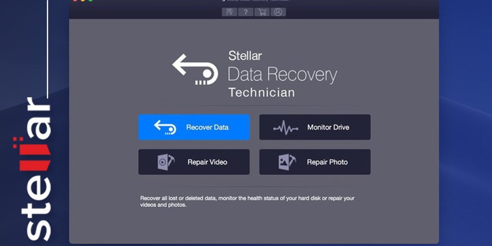 Stellar Data Recovery Free Edition for MAC