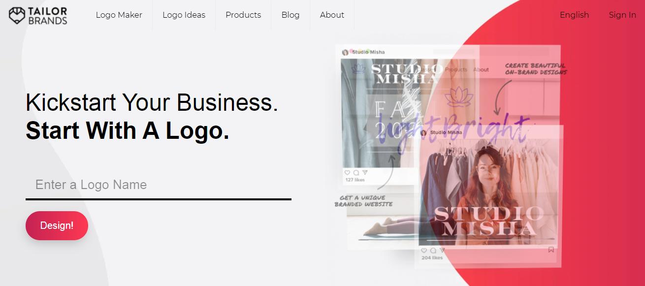 Tailor Brands Logo Maker