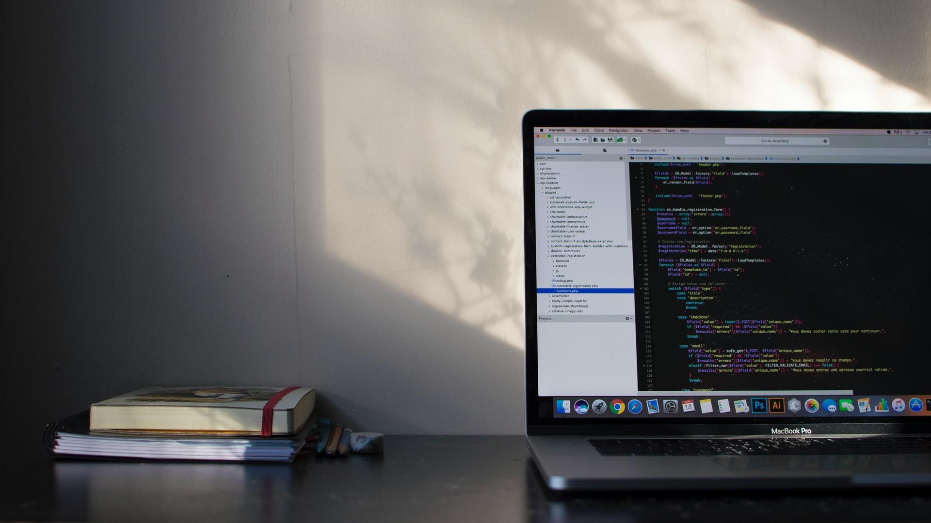 Codes on macbook pro